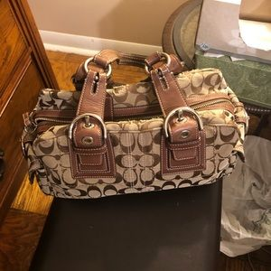 Pre owned Coach Satchel!